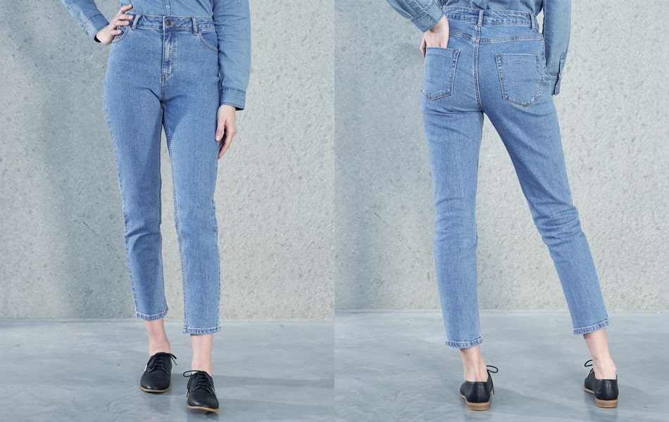 Mom jeans or girlfriend for women